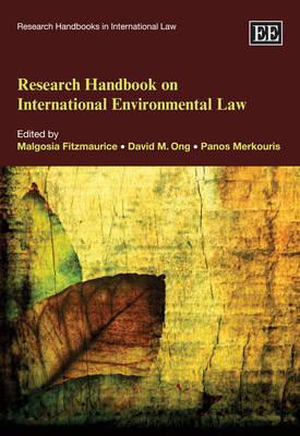 Research Handbook on International Environmental Law