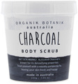 Organik Botanik Body Scrub Tub - Charcoal (200gm)