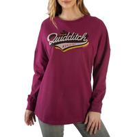 Harry Potter: Quidditch - Slim-Fit Drop Shoulder Pullover (Small)