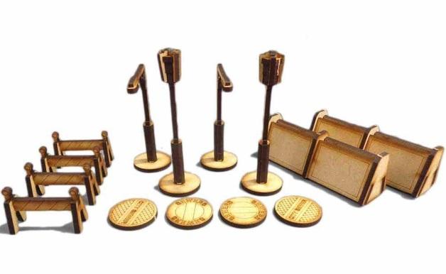 TTCombat: Tabletop Scenics – Street Accessories