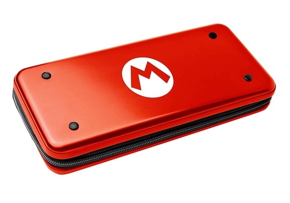 Official Nintendo Licensed Aluminium Metal Premium Case - Mario for Switch