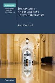 Judicial Acts and Investment Treaty Arbitration by Berk Demirkol