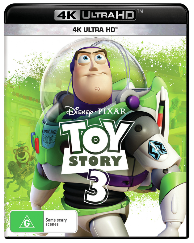 Toy Story 3 on UHD Blu-ray