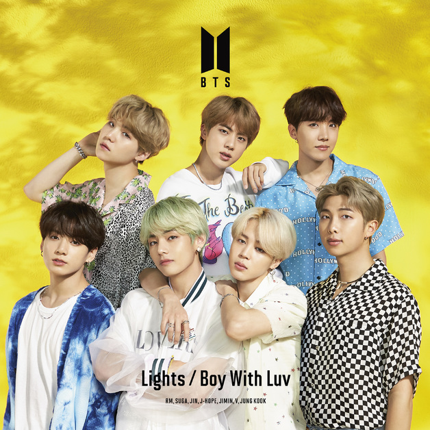 Lights / Boy With Luv - Limited Edition (C) by BTS