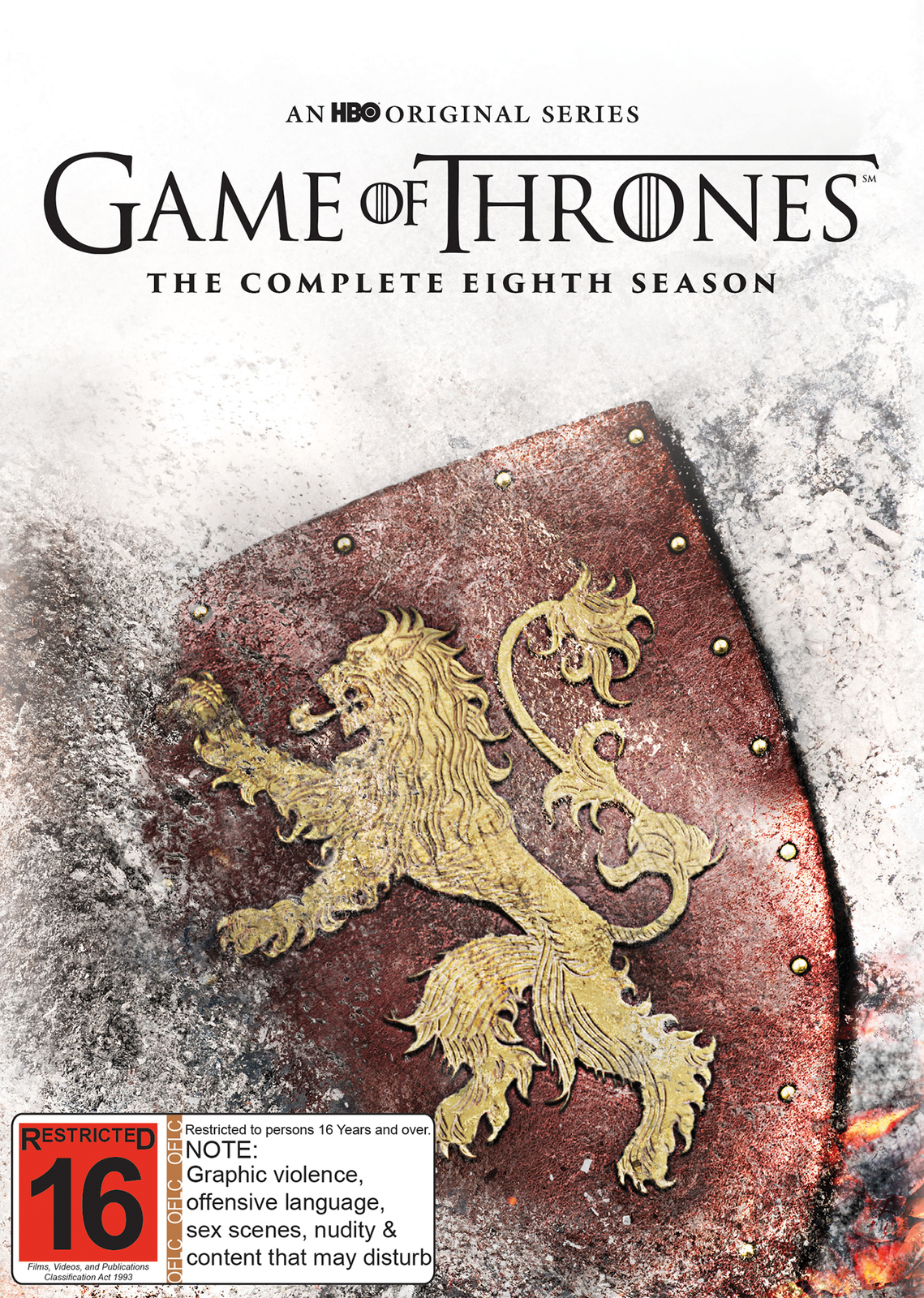 Game of Thrones Season 8 (Mighty Ape Exclusive) on DVD image