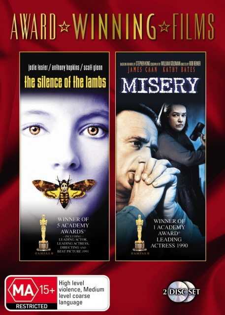 Silence Of The Lambs / Misery (Award Winning Films) (2 Disc Set) on DVD