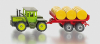 Siku: MB-Trac with Bale Trailer