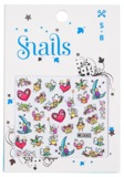 Snail: Nail Stickers Set (Story Telling)