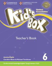 Kid's Box Level 6 Teacher's Book American English by Lucy Frino image