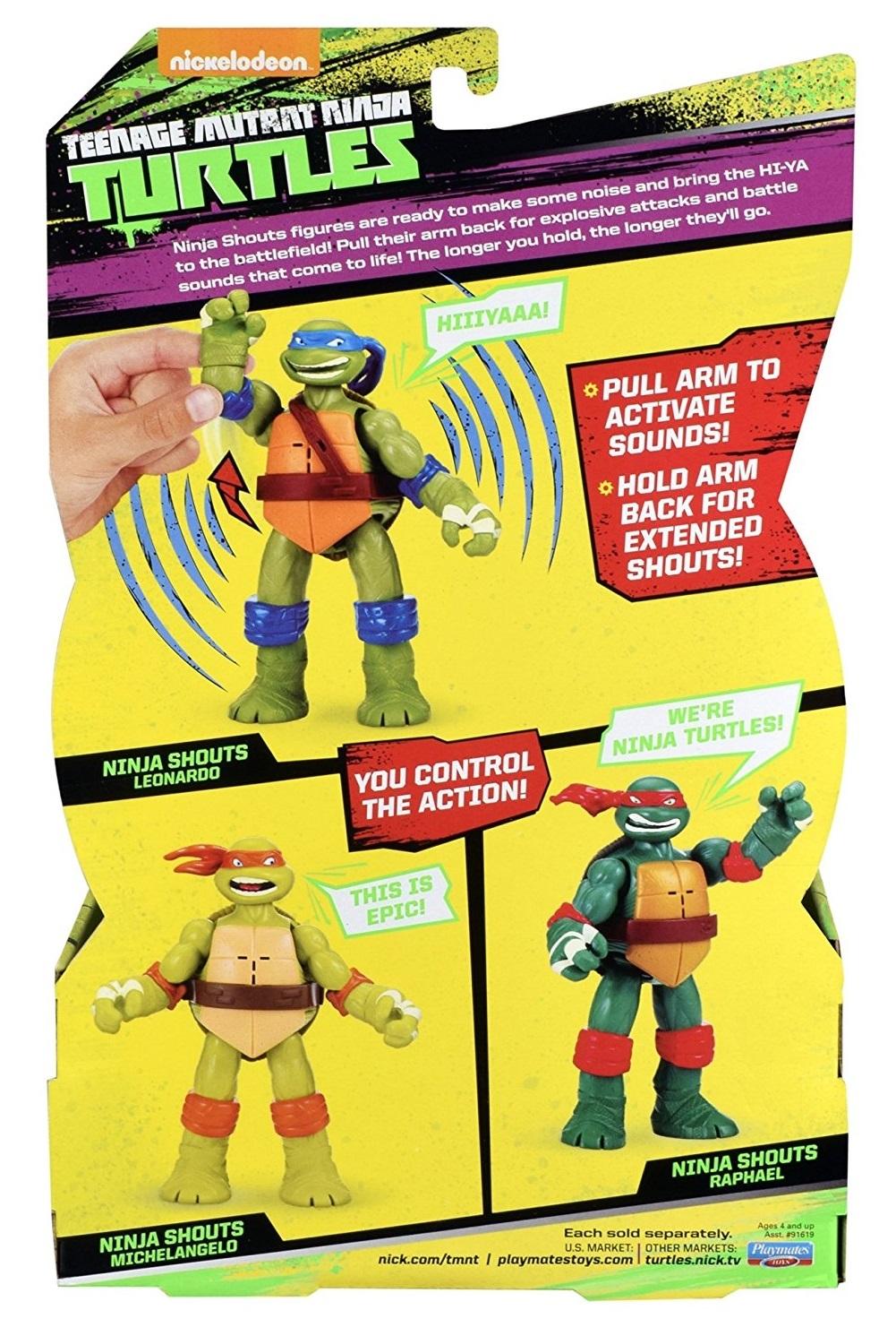 TMNT: Ninja Shouts Deluxe Figure - Leonardo image