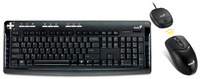 Genius TwinTouch 750E Wireless Laser Keyboard & Mouse Combo image