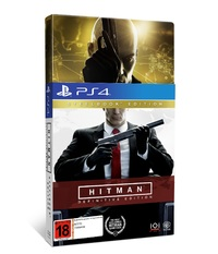 Hitman Definitive Steelbook Edition for PS4