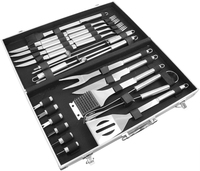 Ultimate BBQ Grill Tool Set - 24 Pieces