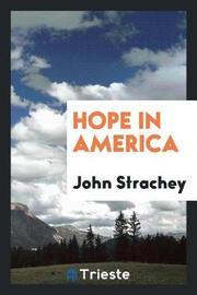 Hope in America by John Strachey image