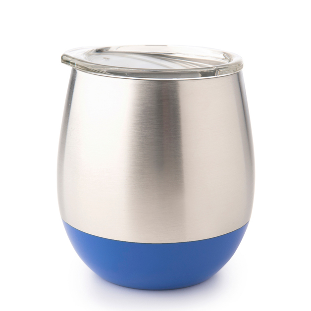 Stainless Steel Insulated Glass - Navy (240ml)