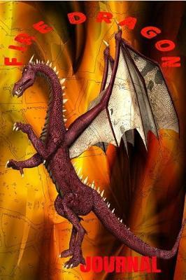 Fire Dragon Journal by Walkingrock