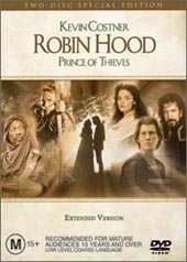Robin Hood: Prince of Thieves - Special Edition (2 Disc) on DVD
