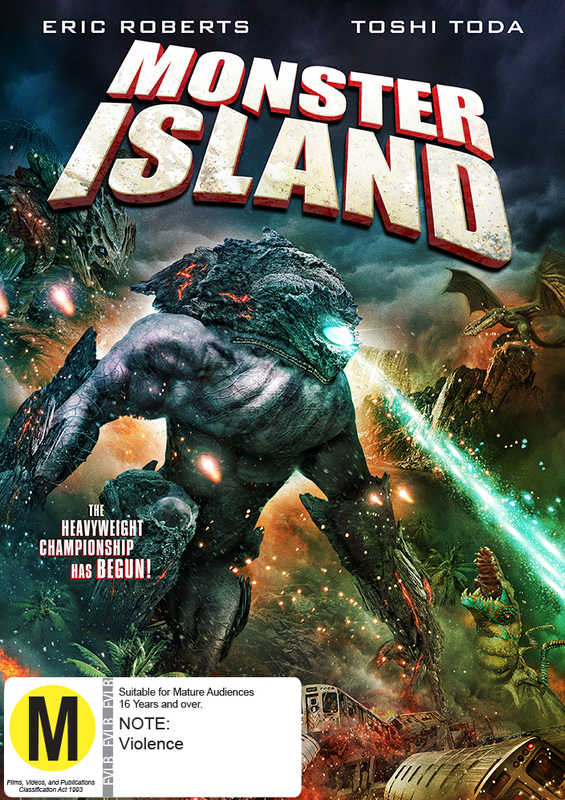 Monster Island on DVD