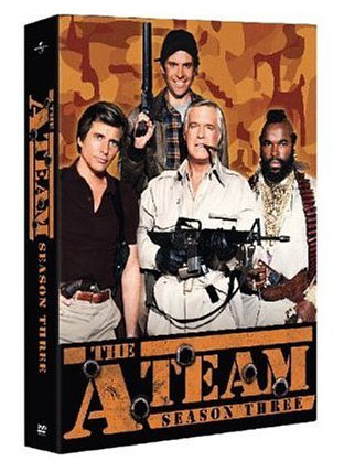 The A-Team - Season 3 (6 Disc Box Set) on DVD image