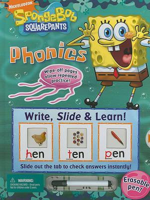 Write, Slide & Learn! Spongebob Squarepants Phonics