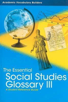 Essential Social Studies Glossary 3 by Red Brick Learning