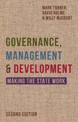 Governance, Management and Development by Mark Turner image