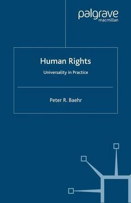 Human Rights by Peter R. Baehr image