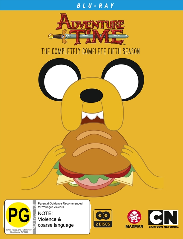 Adventure Time - The Completely Complete Fifth Season on Blu-ray