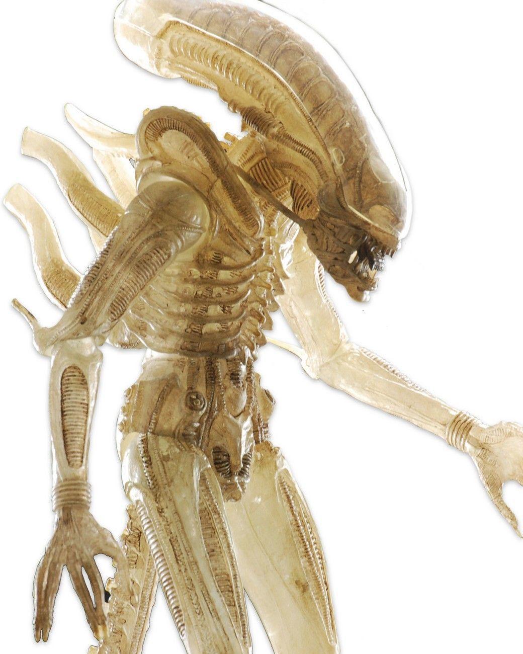 "AvP: 22"" Translucent Prototype Suit 1:4 Figure - Action Figure image"