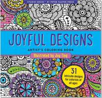Joyful Designs Artist's Coloring Book (Studio Series)
