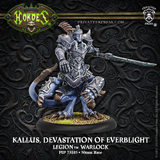 Hordes: Legion of Everblight - Kallus, Devastation of Everblight Warlock