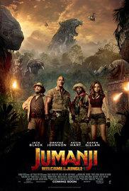 Jumanji: Welcome to the Jungle on Blu-ray