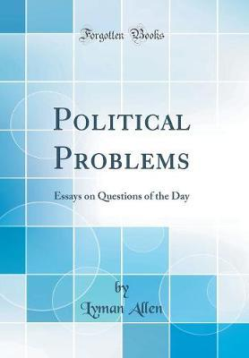 Political Problems by Lyman Allen image