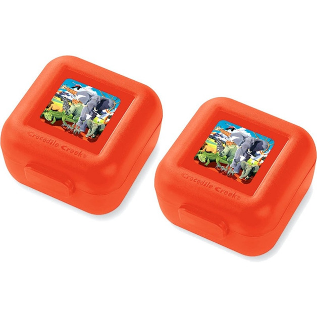 Crocodile Creek Snack Keeper - Safari (Set of 2)