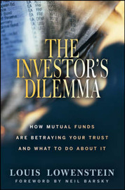 The Investor's Dilemma by Louis Lowenstein image