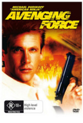 Avenging Force on DVD