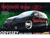 Aoshima Honda Odyssey Black Mafia (RA6 2001) 1/24 Model Kit