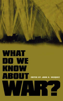 What Do We Know About War? image