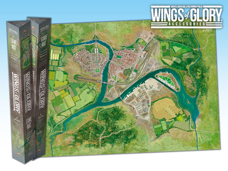 Wings of Glory Game Mat: Industrial Complex image