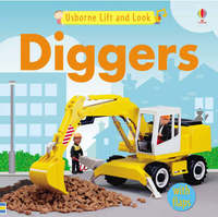 Usborne Lift and Look Diggers image