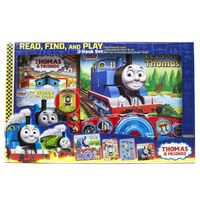 Thomas & Friends Read, Find And Play 3-Book Set by Thomas & Friends image
