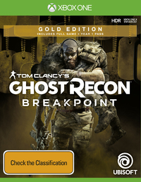 Tom Clancy's Ghost Recon Breakpoint Gold Edition for Xbox One image