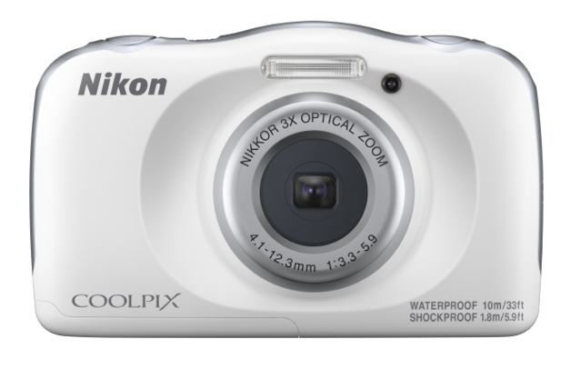 Nikon Coolpix W150 Compact Digital Camera - White