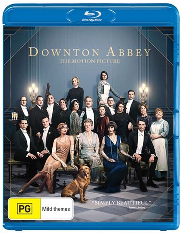 Downton Abbey: The Movie on Blu-ray