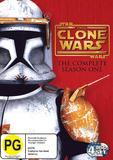 Star Wars: The Clone Wars: The Complete Season 1 (4 Discs) DVD
