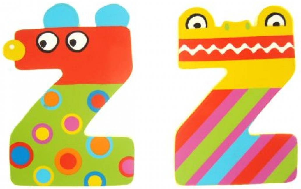 Tatiri Alphabet Letter Crazy Animal - Z