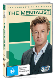 The Mentalist - Season 3 on DVD