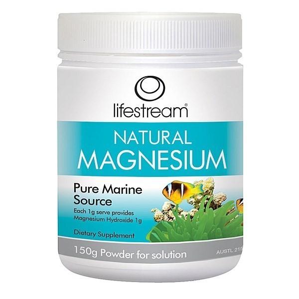 Lifestream Natural Magnesium Powder (75g)