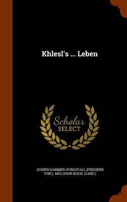 Khlesl's ... Leben image