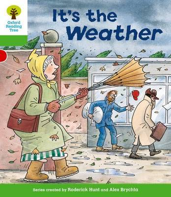 Oxford Reading Tree: Level 2: Patterned Stories: It's the Weather by Roderick Hunt image